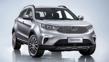 2019 Ford Territory revealed, nameplate returns