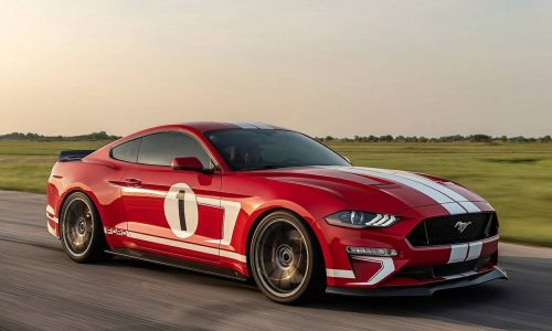 800hp Hennessey Heritage Edition Mustang announced (video)