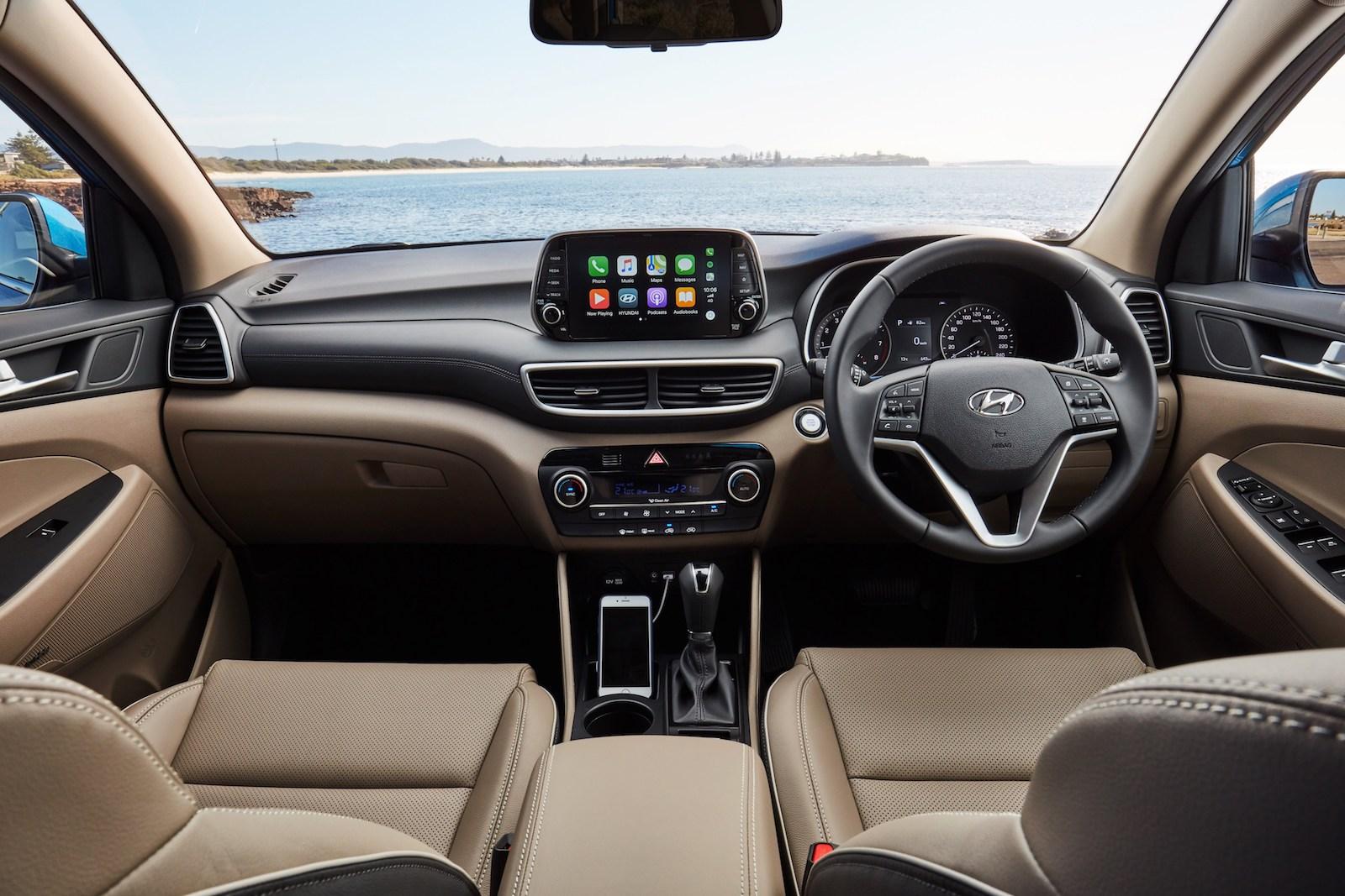 2019 hyundai tucson now on sale in australia from 28 150 - Hyundai tucson interior pictures ...
