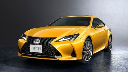2019 Lexus RC update revealed ahead Paris show debut
