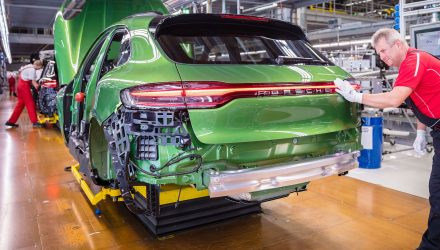 2019 Porsche Macan production commences at Leipzig plant