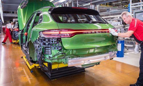 2019 Porsche Macan production commences at Leipzig plant