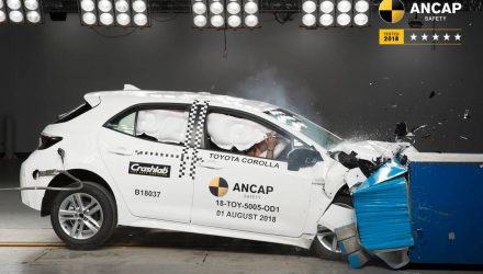 2019 Toyota Corolla awarded 5-star ANCAP safety