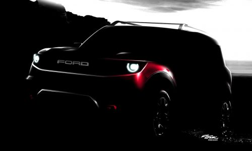 Ford preparing rugged 'baby Bronco' SUV – report