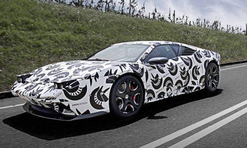 Ares Design Panther testing begins, modern De Tomaso