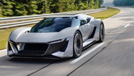 Audi unveils futuristic PB18 e-tron electric concept