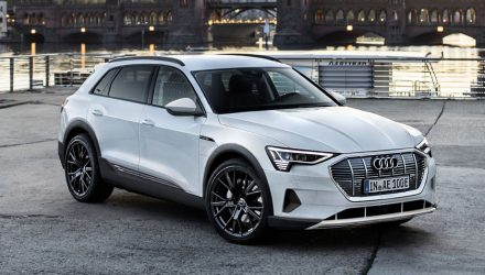 Audi e-tron SUV rendered, shows potential design detail