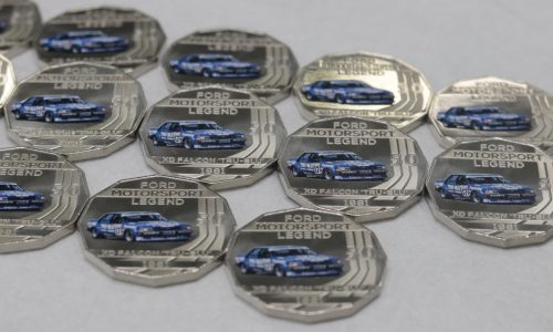 Australian Mint announces Ford & Holden 50c coins, limited edition