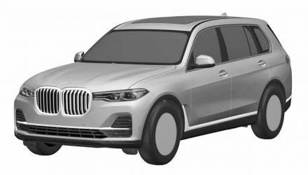BMW X7 patent images surface, reveal production design