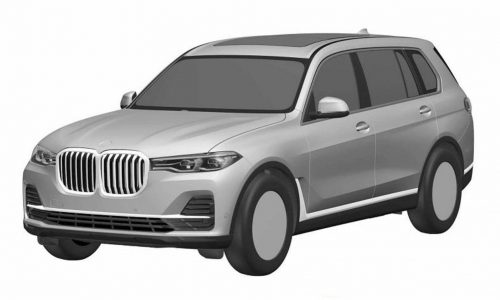 BMW X7 patent images surface, reveal production design