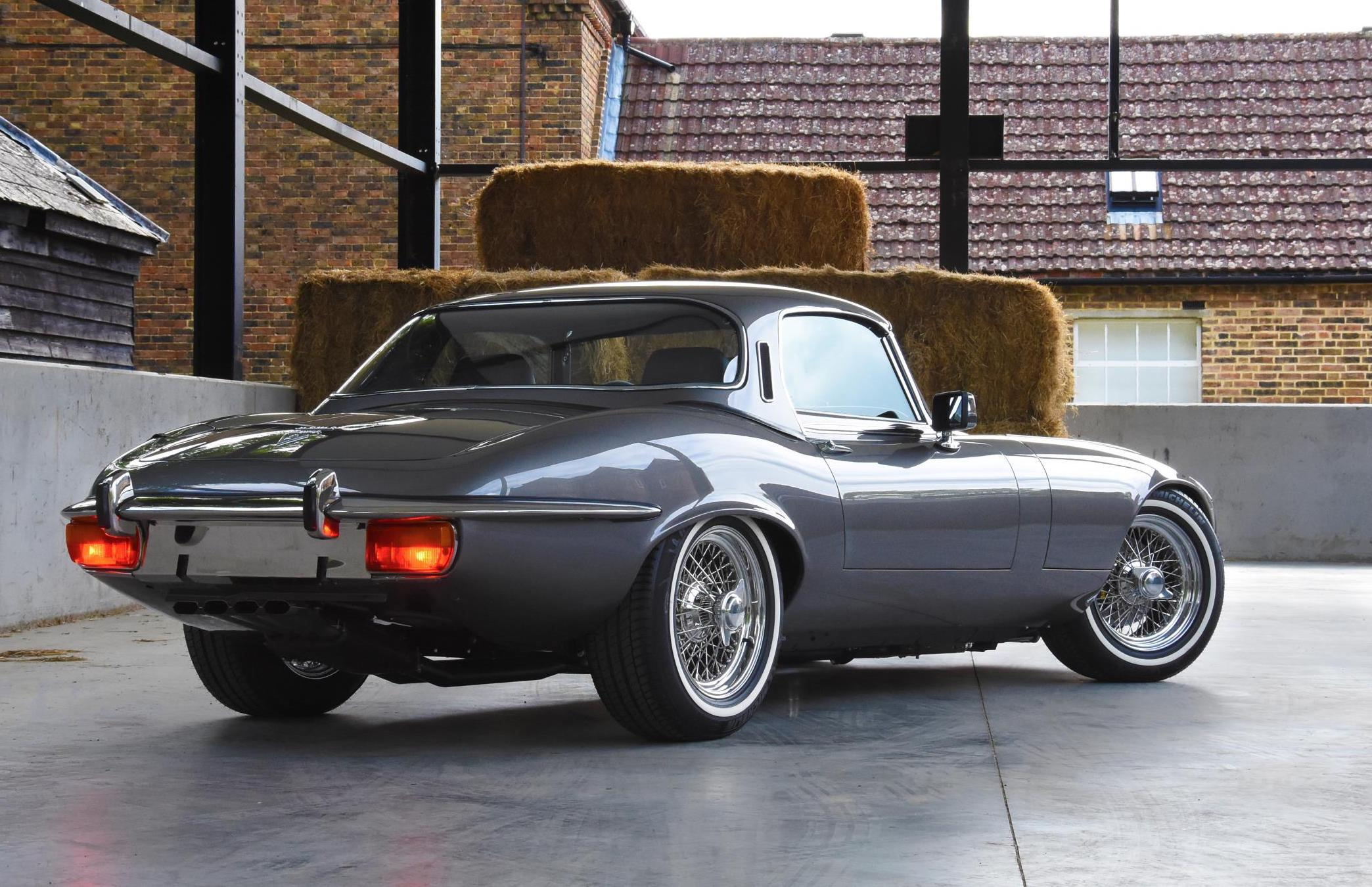 1974 Jaguar E-Type restored beautifully with 6.1L V12 ...