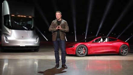 Elon Musk considers taking Tesla private