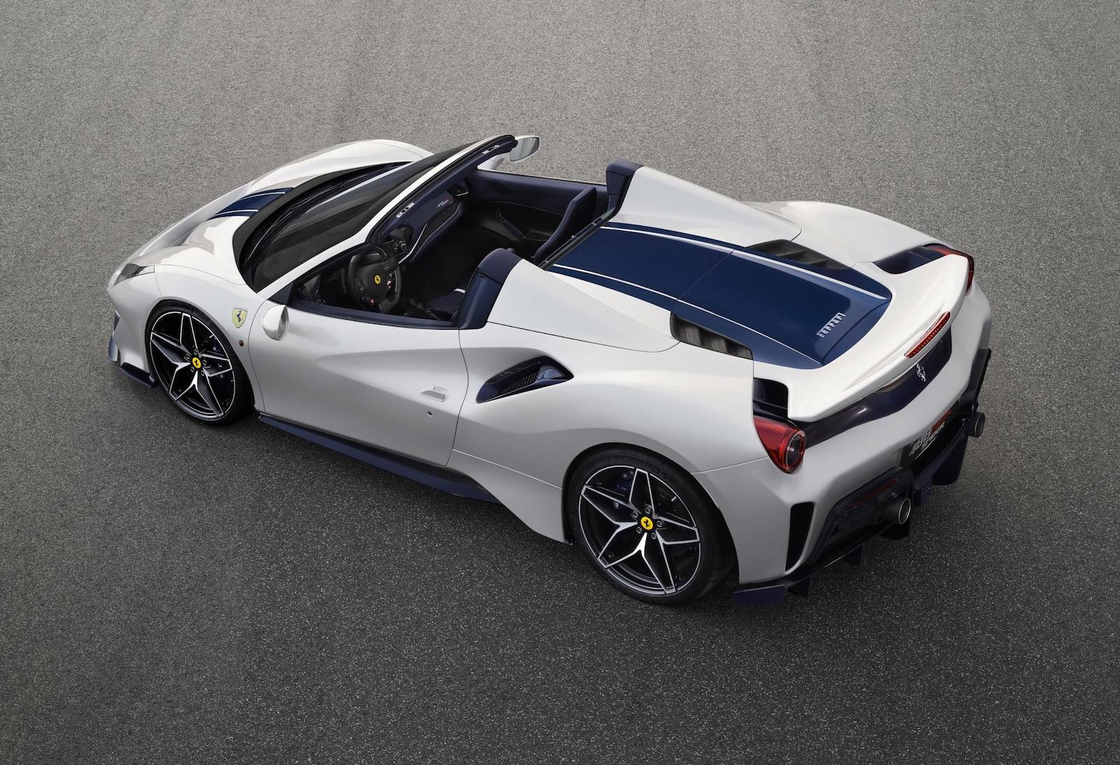 Mercedes Long Beach >> Ferrari 488 Pista Spider revealed at Pebble Beach | PerformanceDrive