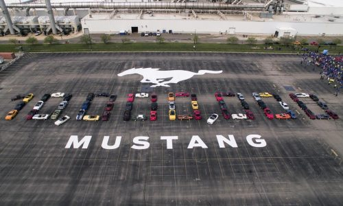 Ford Mustang production hits 10 million milestone