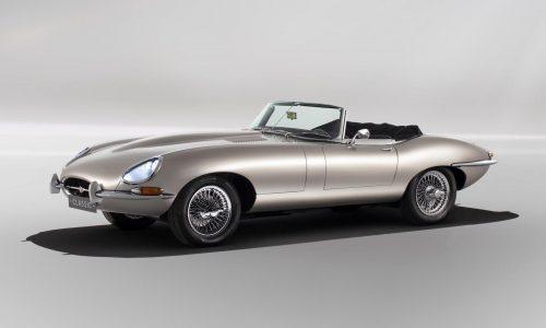 Jaguar Classic confirms production of electric E-Type Zero