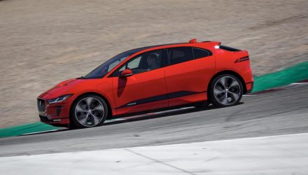 Jaguar I-PACE sets record EV lap around Laguna Seca (video)