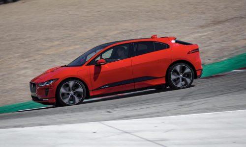 Jaguar I-PACE sets record EV lap around Laguna Seca (video)