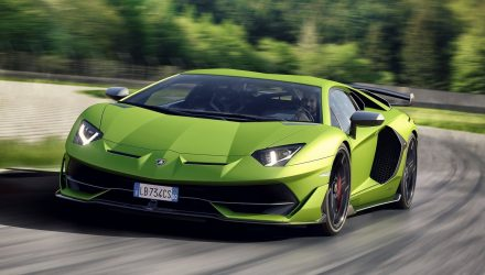 Lamborghini Aventador SVJ priced from $949,640 in Australia