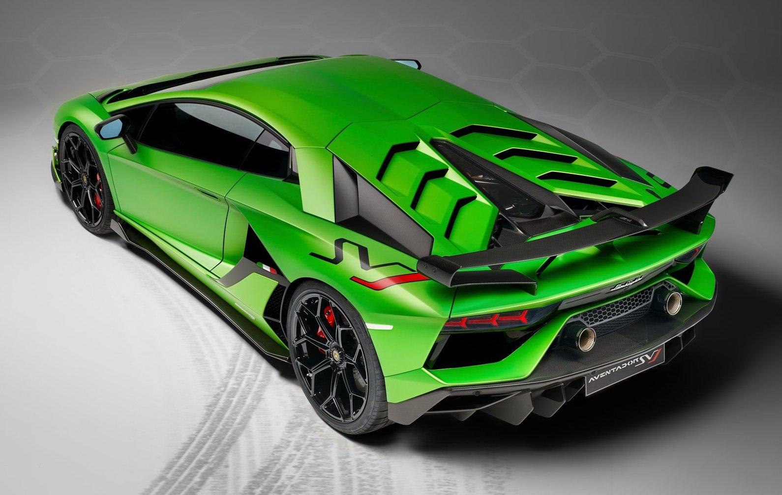 Lamborghini Aventador Svj Priced From 949 640 In Australia