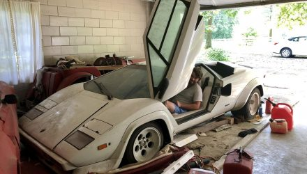 Ultimate barn find: Original 1981 Lamborghini Countach LP500 S