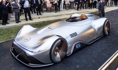 Mercedes-Benz Vision EQ Silver Arrow unveiled