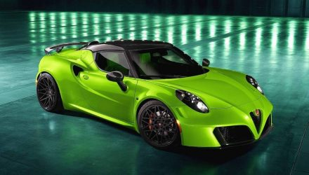 Pogea Racing creates crazy Alfa Romeo 4C 'Centurion 007' (video)