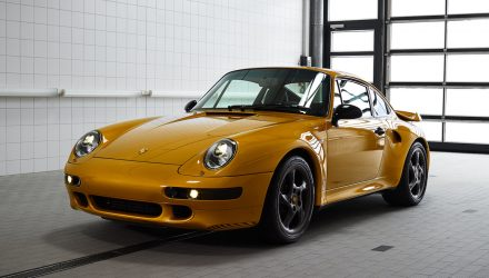 Porsche Classic completes 'Project Gold' 993 911 Turbo