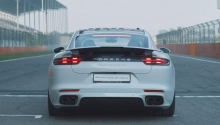 Porsche Panamera Turbo S E-Hybrid sets 6 lap records (video)
