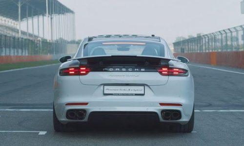 Porsche Panamera Turbo S E-Hybrid sets 6 lap records (video)