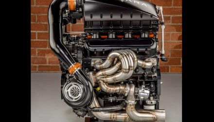 SSC Tuatara teasers show extreme twin-turbo V8 engine