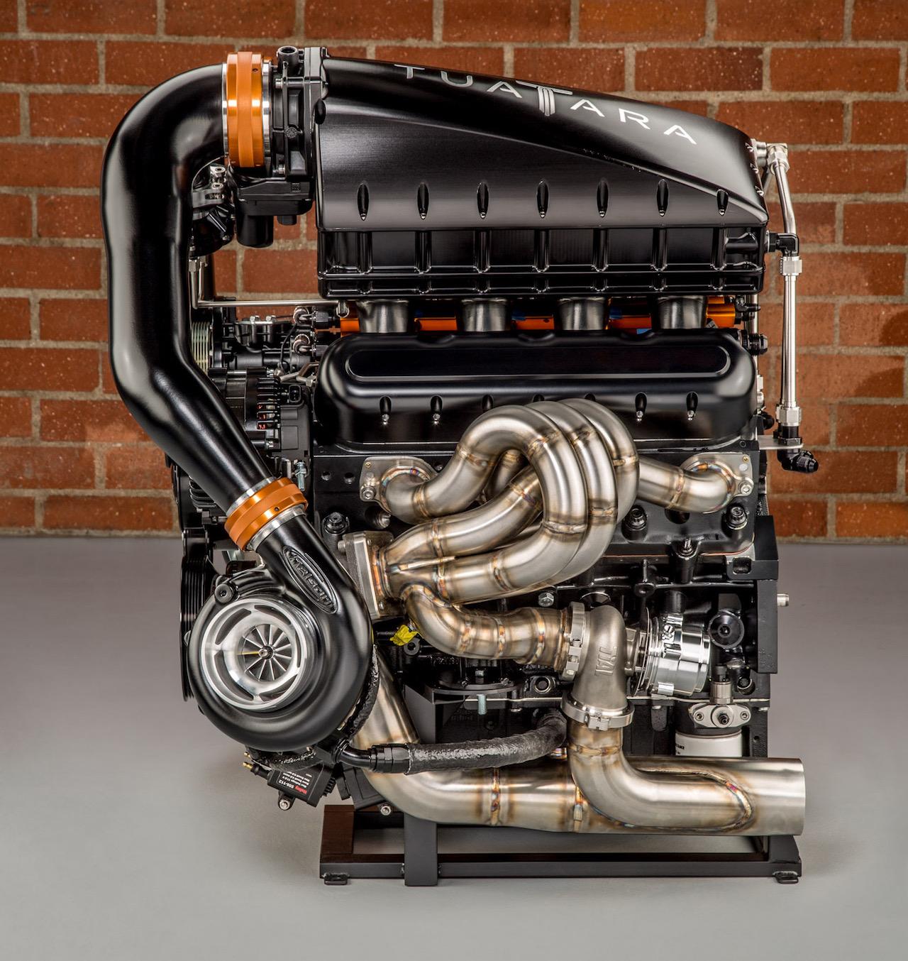 Ssc Tuatara Teasers Show Extreme Twin Turbo V8 Engine