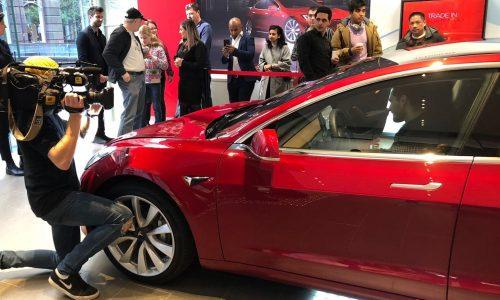 Tesla Model 3 makes Australian debut, in LHD form