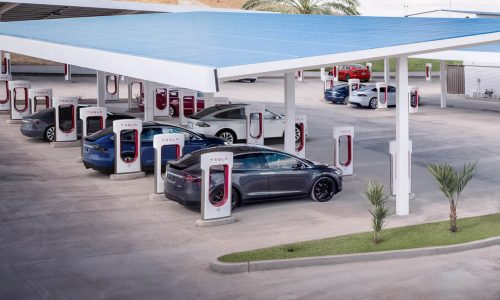 Tesla Supercharger station opens in Narooma, NSW south coast
