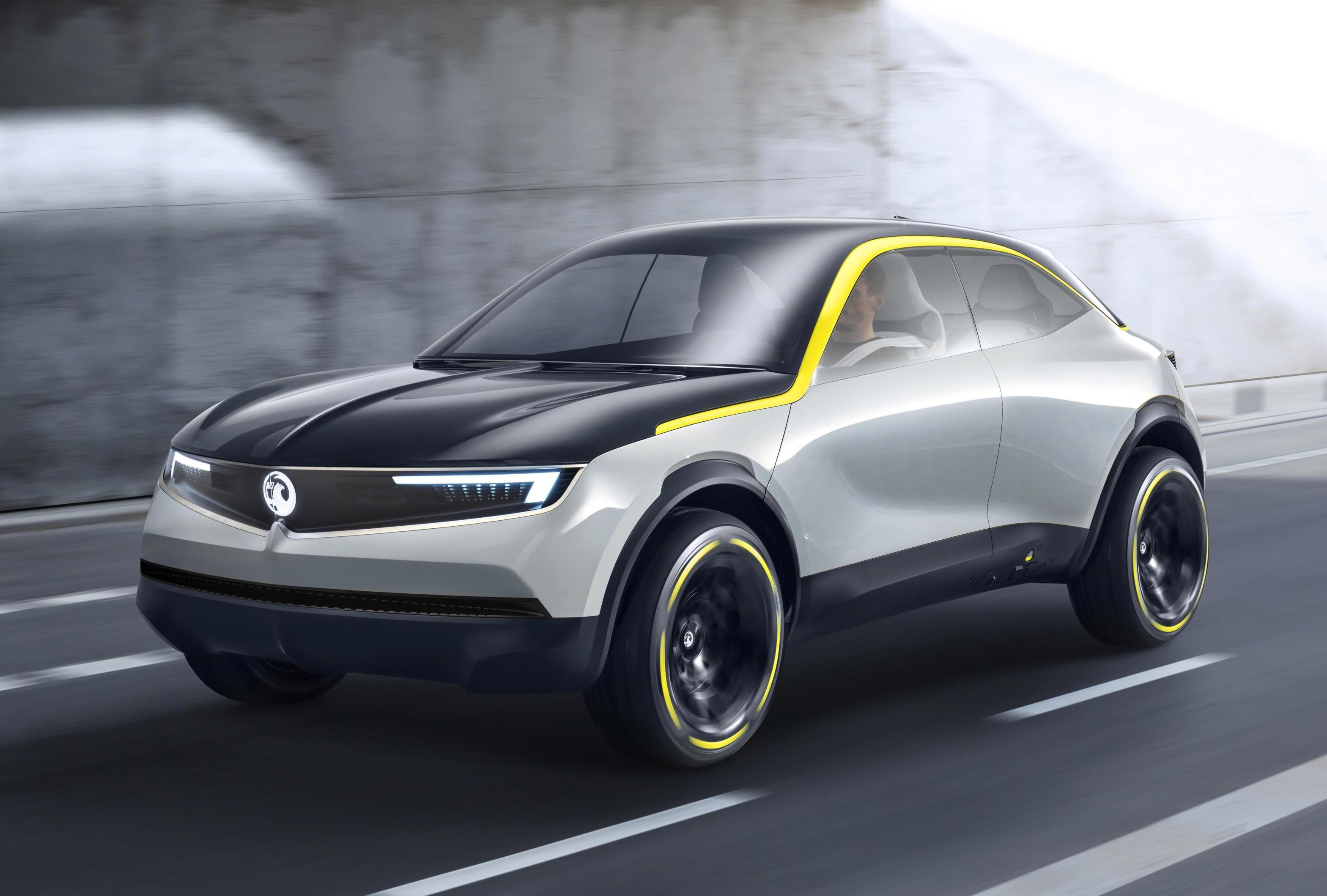 Vauxhall GT X Experimental Concept Previews Upcoming