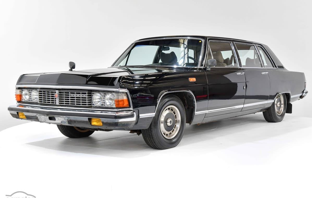 For sale: 1985 Gaz Chaika M14 Russian limousine in ...