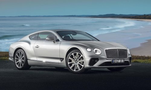 All-new Bentley Continental GT launches in Australia