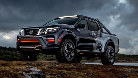 Nissan Navara Dark Sky concept shows enhancement potential