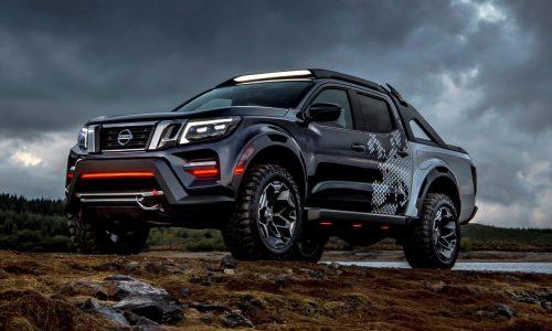 Nissan Navara Dark Sky concept shows enhancement potential