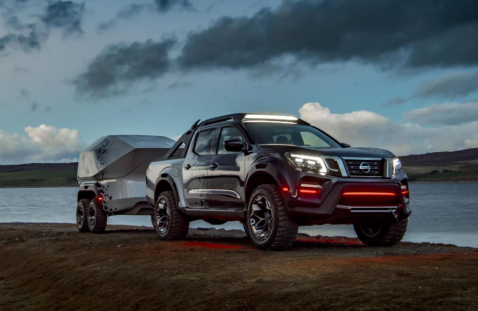 Nissan Navara Dark Sky concept shows enhancement potential ...