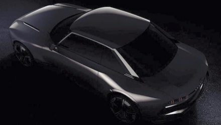 Peugeot previews retro coupe concept before Paris debut