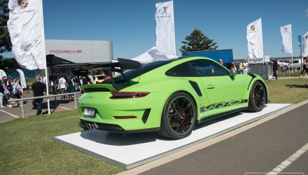 2018 Porsche 911 GT3 RS makes Australian debut at Cronulla event