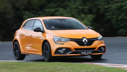 2018 Renault Megane RS launches in Australia