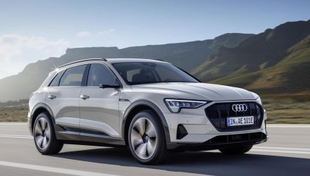 Audi e-tron fully electric SUV unveiled