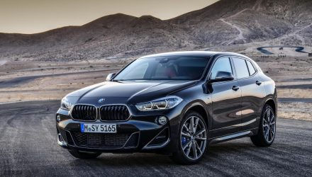 BMW X2 M35i revealed, debuts potent new 2.0T engine