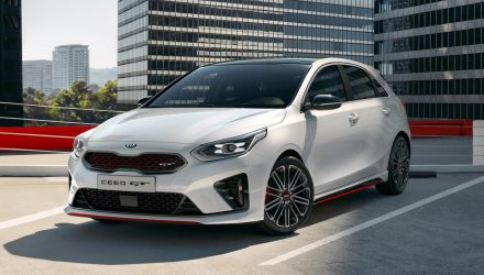 2019 Kia Ceed GT revealed, looks very hot hatch