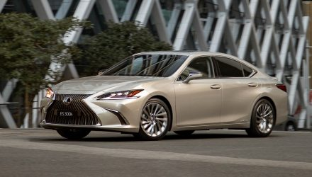 2019 Lexus ES 300h on sale in Australia from $59,888