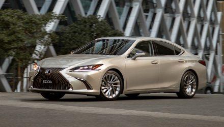 2019 Lexus ES 300h on sale in Australia from $59,888