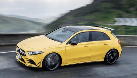 2019 Mercedes-AMG A 35 hot hatch revealed