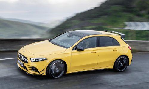 2019 Mercedes-AMG A 35 hot hatch revealed