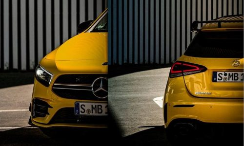 Mercedes-AMG A 35 intermediate hot hatch officially previewed